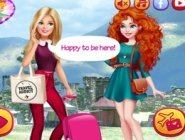 Barbie'den Merida'ya Ziyaret