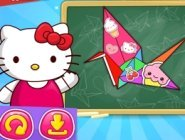 Hello Kitty ile Origami