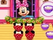 Minnie Mouse'un Kapkekleri