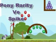 Pony Rarity  Ve  Spike