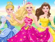 Barbie Disney Prensesi Oluyor