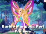 Barbie Mariposa Peri Prenses