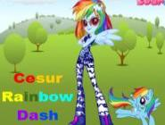 Cesur Rainbow Dash