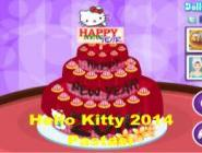 Hello Kitty 2014 Pastası
