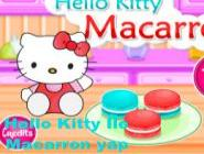 Hello Kitty İle  Macarron yap
