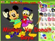 Mickey Ve Donalt Boya