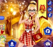 Barbie Harry Potter'ın Okulunda