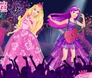 Barbie Prenses Ve Rockstar