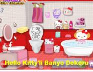 Hello Kitty'li Banyo Dekoru