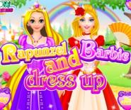 Rapunzel Ve Barbie