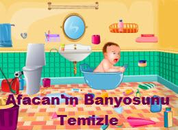 Afacan'ın Banyosunu Temizle