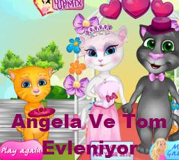 Angela Ve Tom Evleniyor