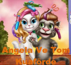Angela Ve Tom Kuaförde