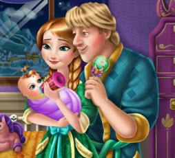 Anna ve kristoff un bebeği