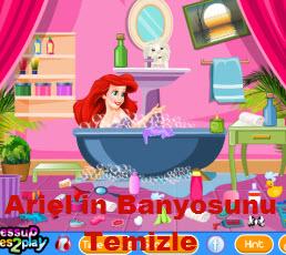 Ariel'in Banyosunu Temizle