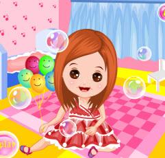 Baloncuk Kız'ı Giydir