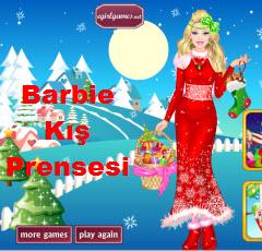 Barbie Kış Prensesi