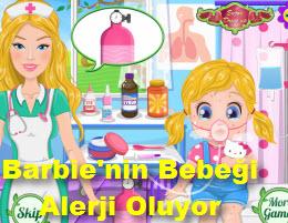 Barbie'nin Bebeği Alerji Oluyor
