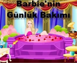 Barbie'nin Günlük Bakımı