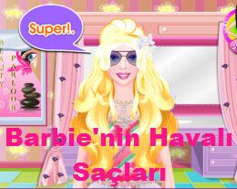 Barbie'nin Havalı Saçları