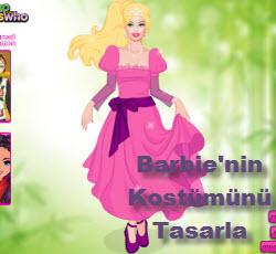 Barbie'nin Kostümünü Tasarla