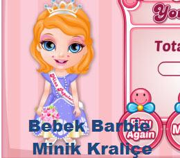 Bebek Barbie Minik Kraliçe