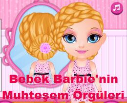 Bebek Barbie'nin Muhteşem Örgüleri
