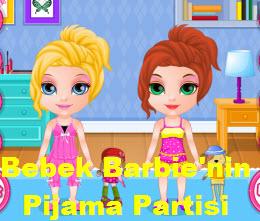 Bebek Barbie'nin Pijama Partisi