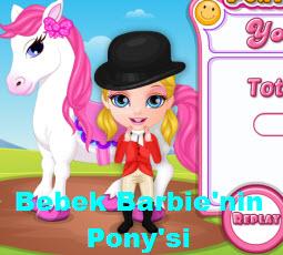 Bebek Barbie'nin Pony'si