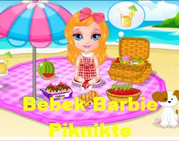 Bebek Barbie Piknikte