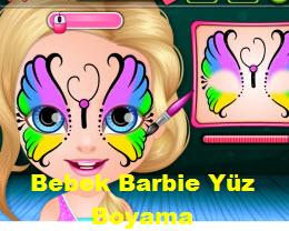 Bebek Barbie Yuz Boyama Oyna