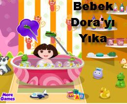 Bebek Dora'yı Yıka