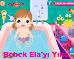 Bebek Ela'yı Yıka
