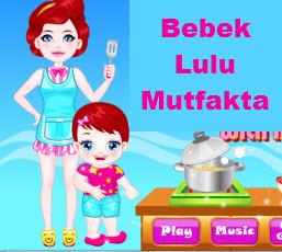 Bebek Lulu Mutfakta