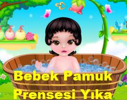 Bebek Pamuk Prensesi Yıka