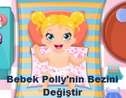 Bebek Polly'nin Bezini Değiştir