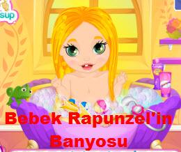 Bebek Rapunzel'in Banyosu