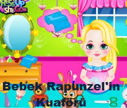 Bebek Rapunzel'in Kuaförü