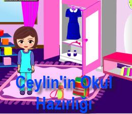 Ceylin'in Okul Hazırlığı
