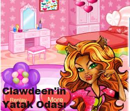 Clawdeen'in Yatak Odası