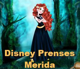 Disney Prenses Merida