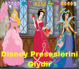 Disney Preseslerini Giydir