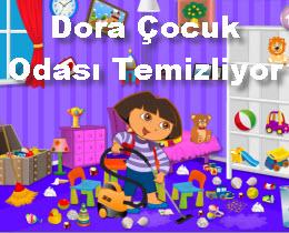 Dora Çocuk Odası Temizliyor