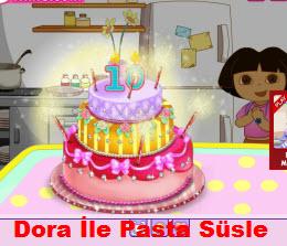 Dora İle Pasta Süsle