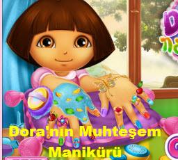 Dora'nın Muhteşem Manikürü