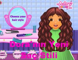 Dora'nın Yeni Saç Stili