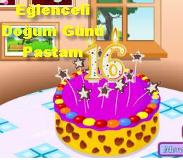 Eğlenceli  Doğum Günü  Pastam