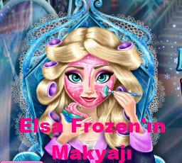Elsa Frozen'ın Makyajı