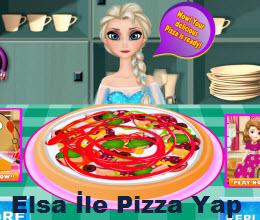 Elsa İle Pizza Yap