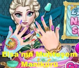 Elsa'nın Muhteşem Manikürü